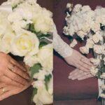 عکس های سالگرد عروسی یک زوج و مقایسه آن با مراسم اصلی شان