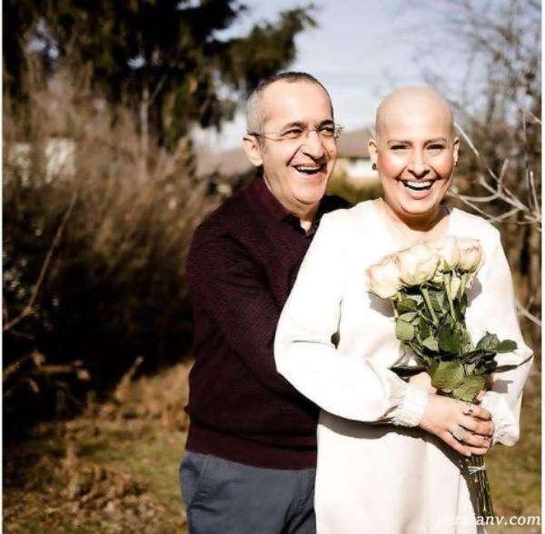 آیدا کیخایی و همسرش