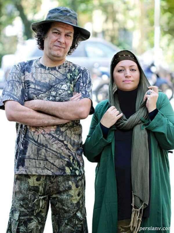 آرش میراحمدی و همسرش