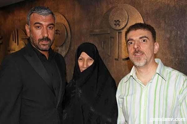 خواهر علی انصاریان و همسرش
