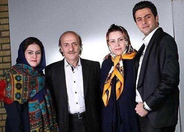 عکس خانوادگی علی ضیا