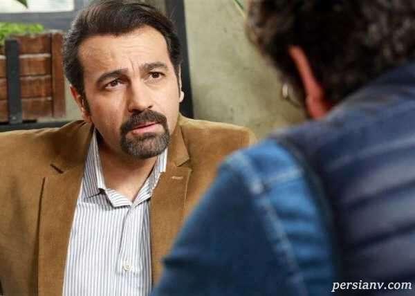 آرش مجیدی بازیگر نقش فرهاد در سریال احضار و دخترش