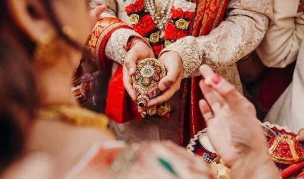 تصمیم عروس در مراسم