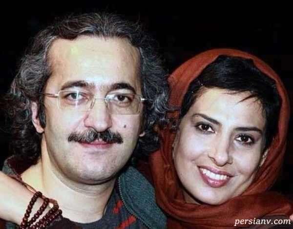 عکس آیدا کیخایی بازیگر مبتلا به سرطان و همسرش محمد یعقوبی