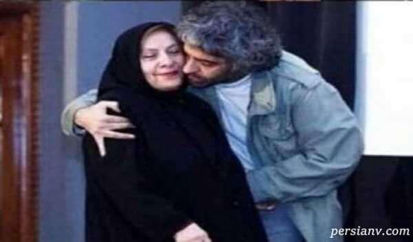 تصاویری از مادر بابک خرمدین در فیلم پسرش کنار او