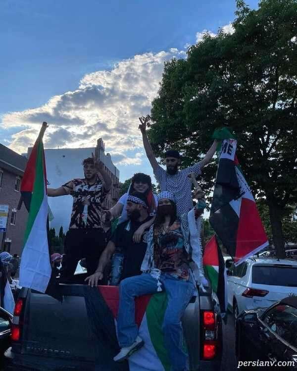 تظاهرات حمایت از فلسطین