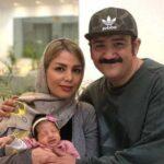 عکسی از جشن تولد همسر مهران غفوریان در ۳۴ سالگی