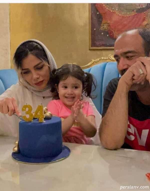 تولد همسر مهران غفوریان