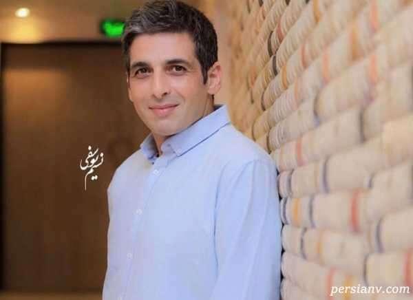 حمید گودرزی بازیگر سینما در جشن تولد برادرش