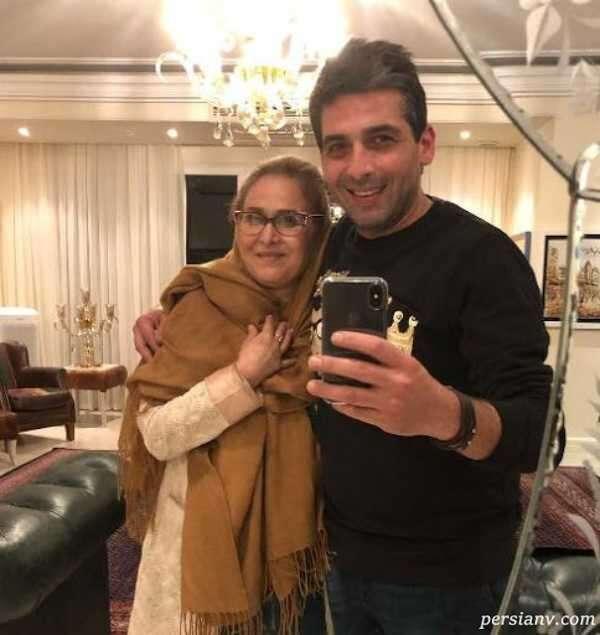 بازیگر معروف و مادرش