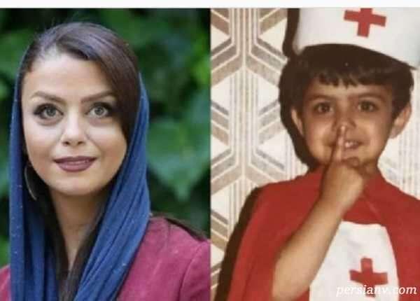 کودکی بازیگران زن ایرانی