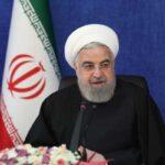 پایان تحریم های ایران از زبان روحانی رئیس دولت اعلام شد