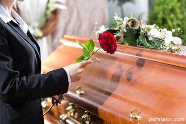 مراسم تشییع جنازه زن دومینیکن