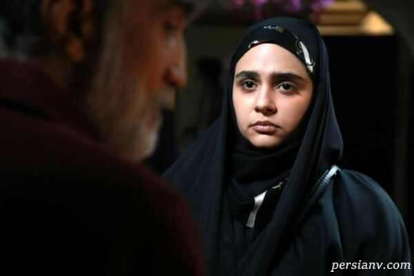 چهره متفاوت قبل از گریم مینو آذرمگین نقش زهره در سریال احضار