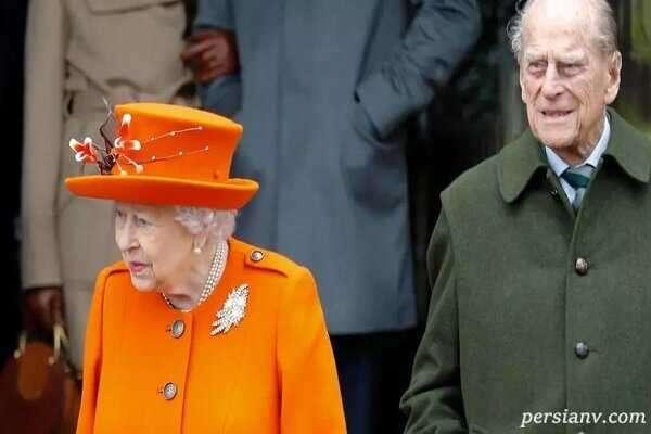 الیزابت دوم و همسرش