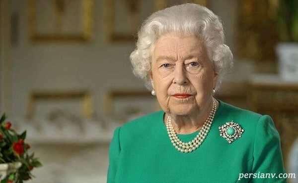 نخستین سخنرانی و حضور عمومی ملکه الیزابت بعد از درگذشت همسرش