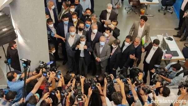 ثبت نام محمود احمدی نژاد