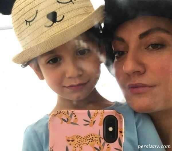عکس تولد دختر مهناز افشار