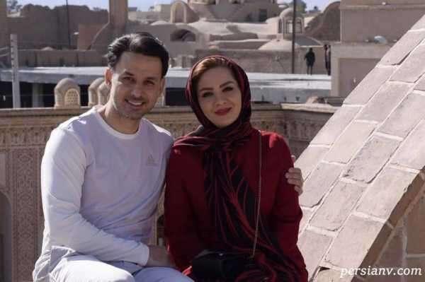 مهدی توتونچی و همسرش