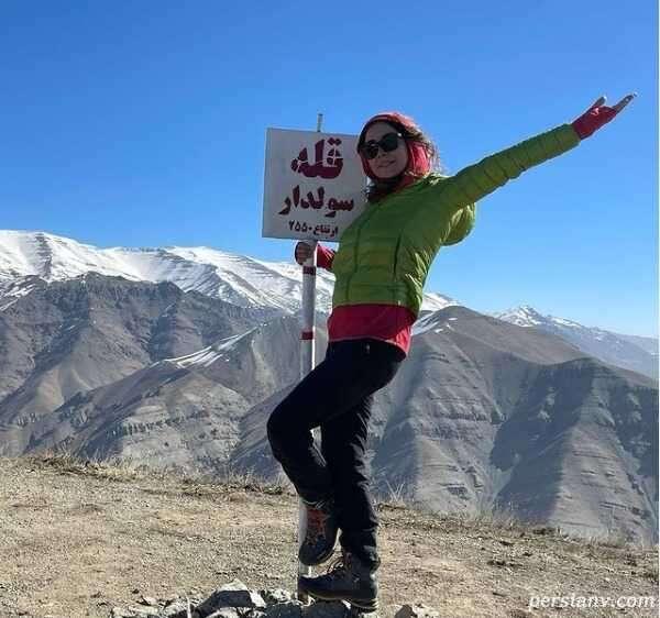 کوهنوردی آنا نعمتی
