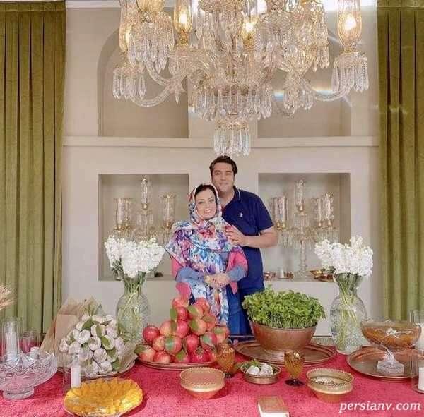 عکس جدید صبا راد و همسرش