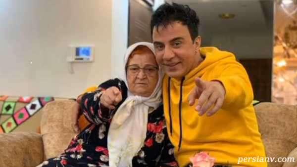 عکس جدید مادر عمو پورنگ