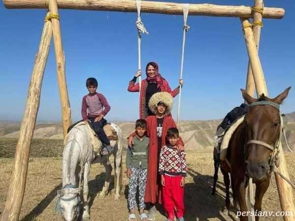 بازیگر یاور در ترکمن صحرا