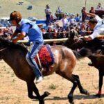 حضور زنان در جشنواره اسب سواری قره قیه ارسباران