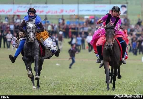 جشنواره اسب سواری قره قیه