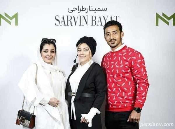 بازیگر زن و خواهر و شوهر خواهرش
