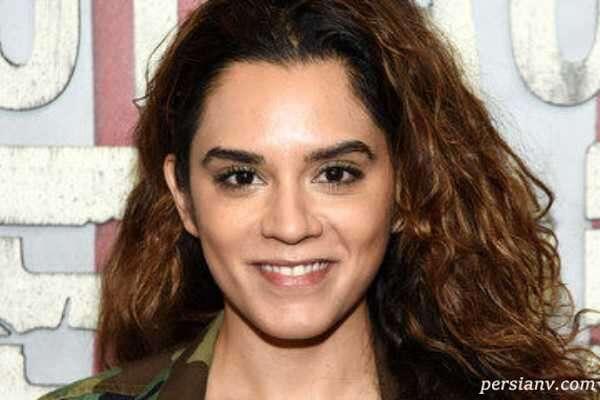 سپیده معافی بازیگر ایرانی آلمانی در یک سریال بزرگ کمپانی اپل