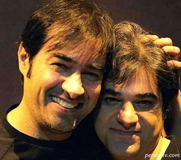 شهاب حسینی با برادرش