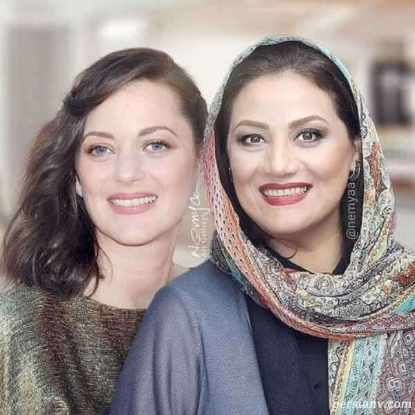 شباهت بازیگران زن ایرانی و خارجی
