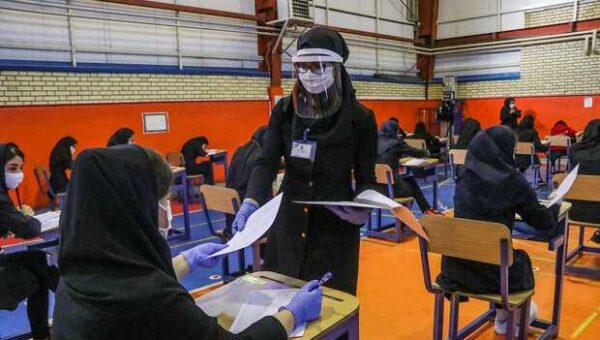 امتحانات حضوری دانش آموزان