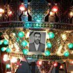مراسم شب قدر بر سر مزار زنده یاد علی انصاریان با حضور خانواده