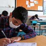 امتحانات حضوری پایه دوازدهم با پروتکل های بهداشتی برگزار شد