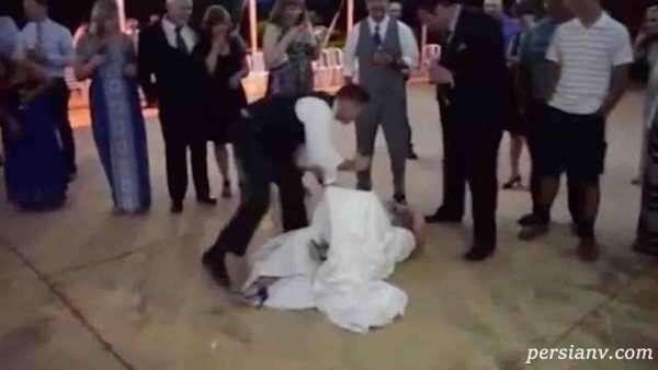شوخی زشت داماد با عروس