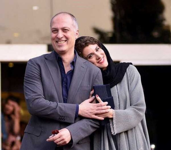 بازیگر زن و همسرش