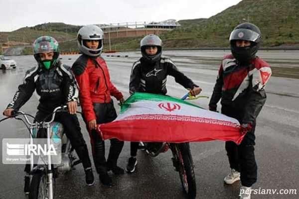 زنان موتورسوار