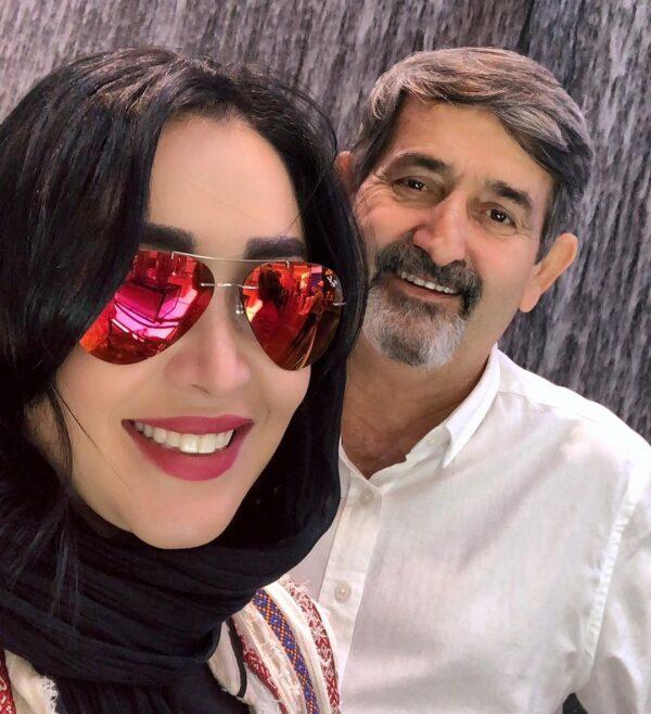 پدر سارا منجزی پور بازیگر