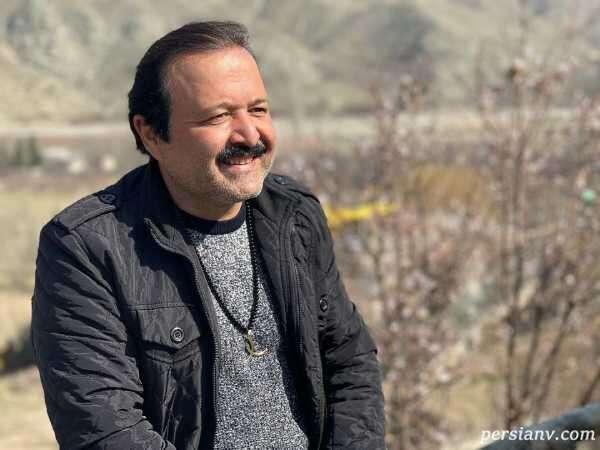 علی صالحی بازیگر نون خ داوطلب واکسن کرونا ایرانی شد