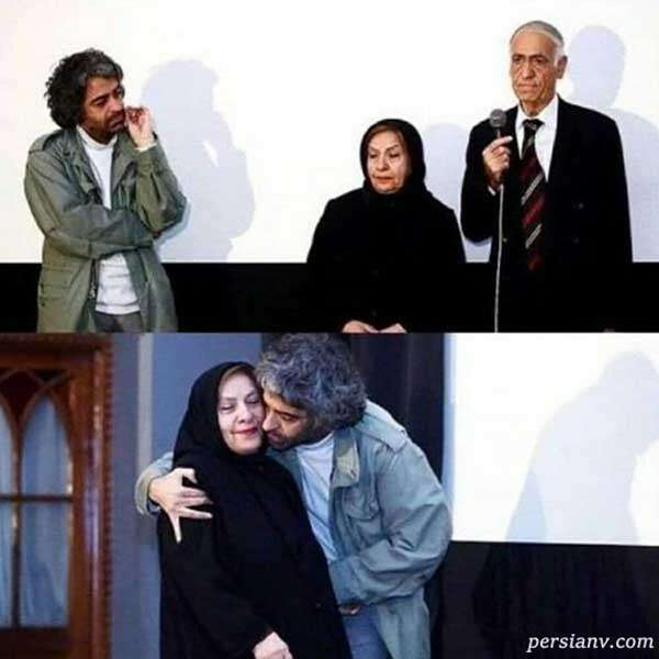 آقای کارگردان در کنار پدر و مادرش