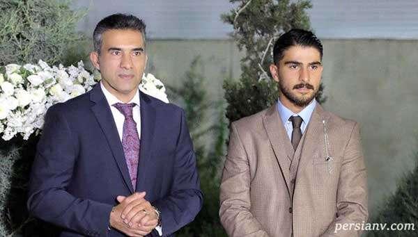 امیر عابدزاده در کنار پدرش