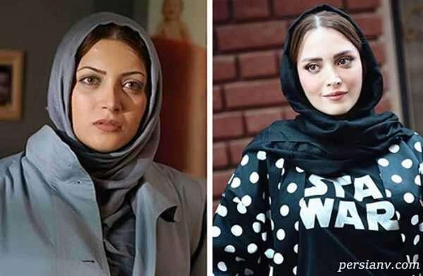 تغییر چهره بازیگران معروف