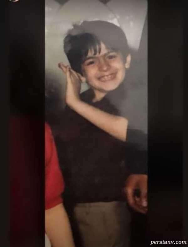 کودکی فرزاد حسنی