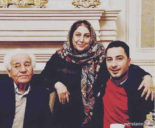 پدر و مادر بازیگر معروف