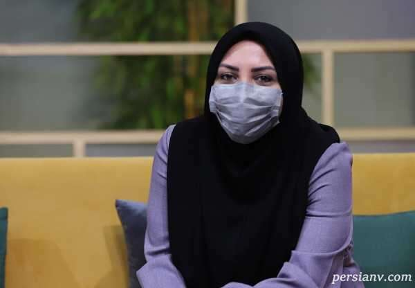 جشن تولد ۴۰ سالگی المیرا شریفی مقدم مجری شبکه خبر با کیک زیبایش