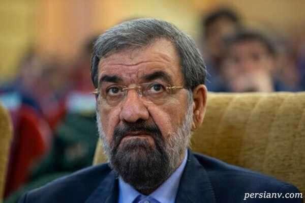 بنر عجیب طرفداران محسن رضایی کاندیدای انتخابات ریاست جمهوری