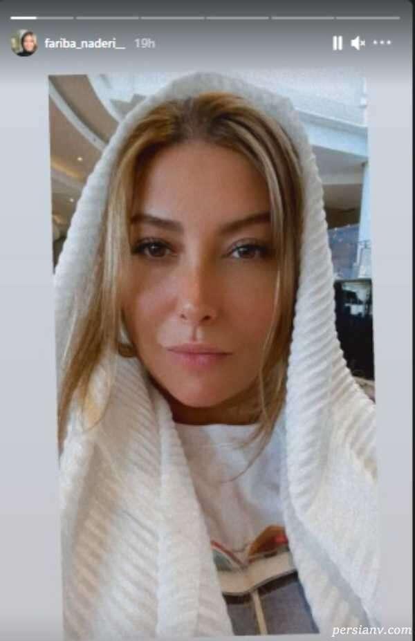 چهره جدید و تغییر کرده فریبا نادری بازیگر سینما