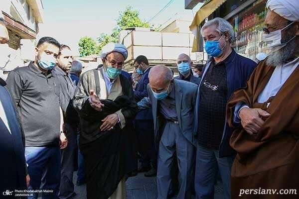 عرب سرخی و بهزاد نبوی و علی یونسی (فعال سیاسی)